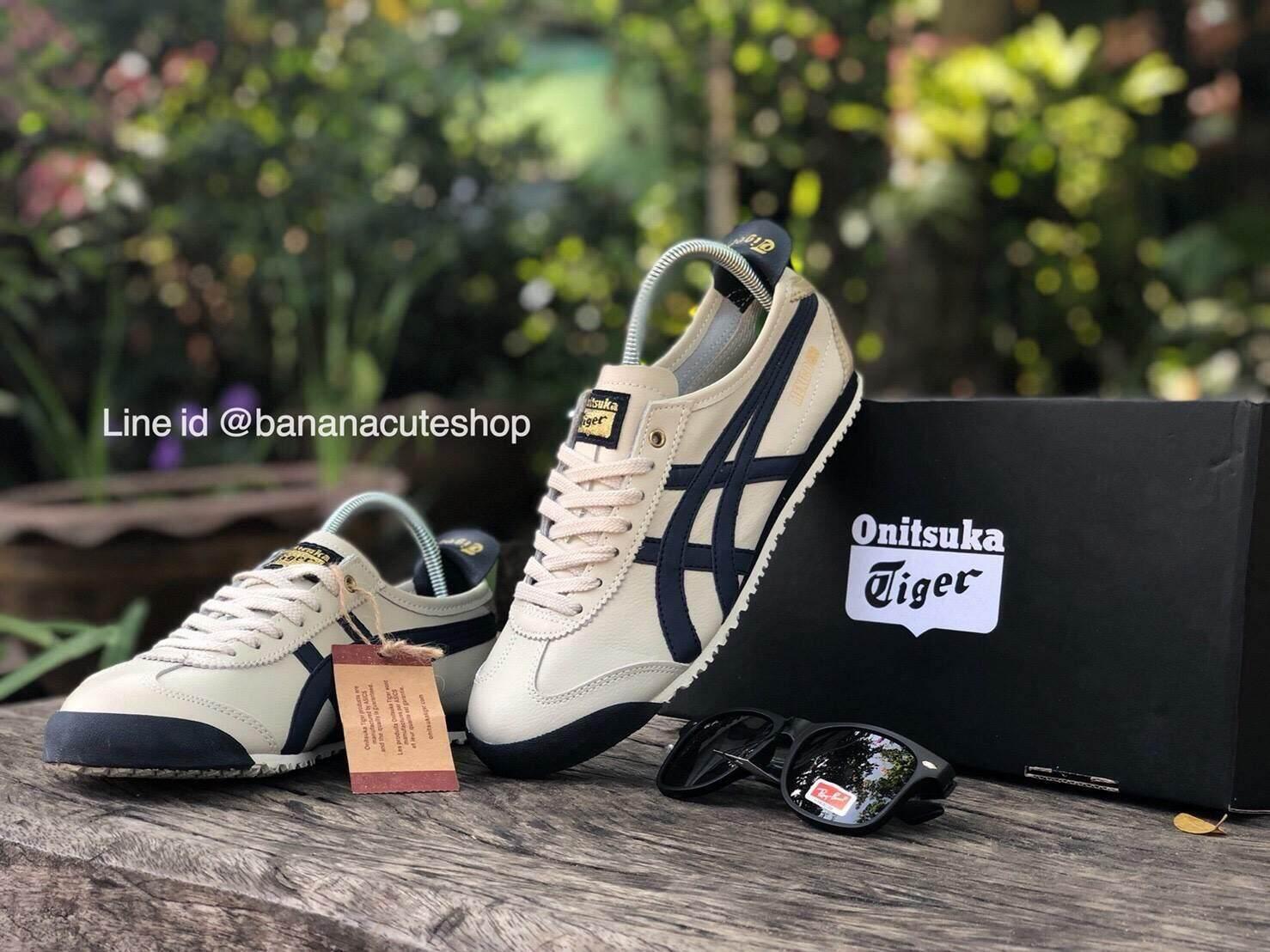 Onitsuka Tiger Mexcio66. วัสดุหนังPU รองเท้าผ้าใบ โอนิซึกะ รองเท้าโอนิซึกะ onisuka tiger รองเท้าโอนิซึกะรุ่นขายดี รองเท้าราคาถูก รองเท้าผู้ชาย รองเท้าผู้หญิง รองเท้าใส่เที่ยว ร้านขายรองเท้าราคาถูก รองเท้ามาใหม่2019