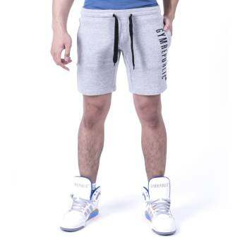 GYMREPUBLIC SLIM FIT SHORTS (GREY)
