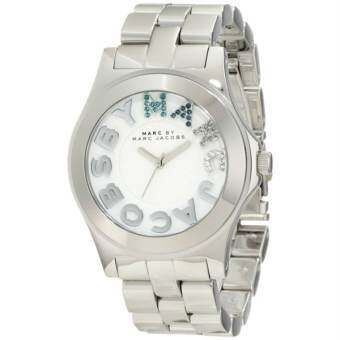 Marc by Marc Jacobs MBM3136 Women's Rivera White Dial Stainless Steel Bracelet Watch
