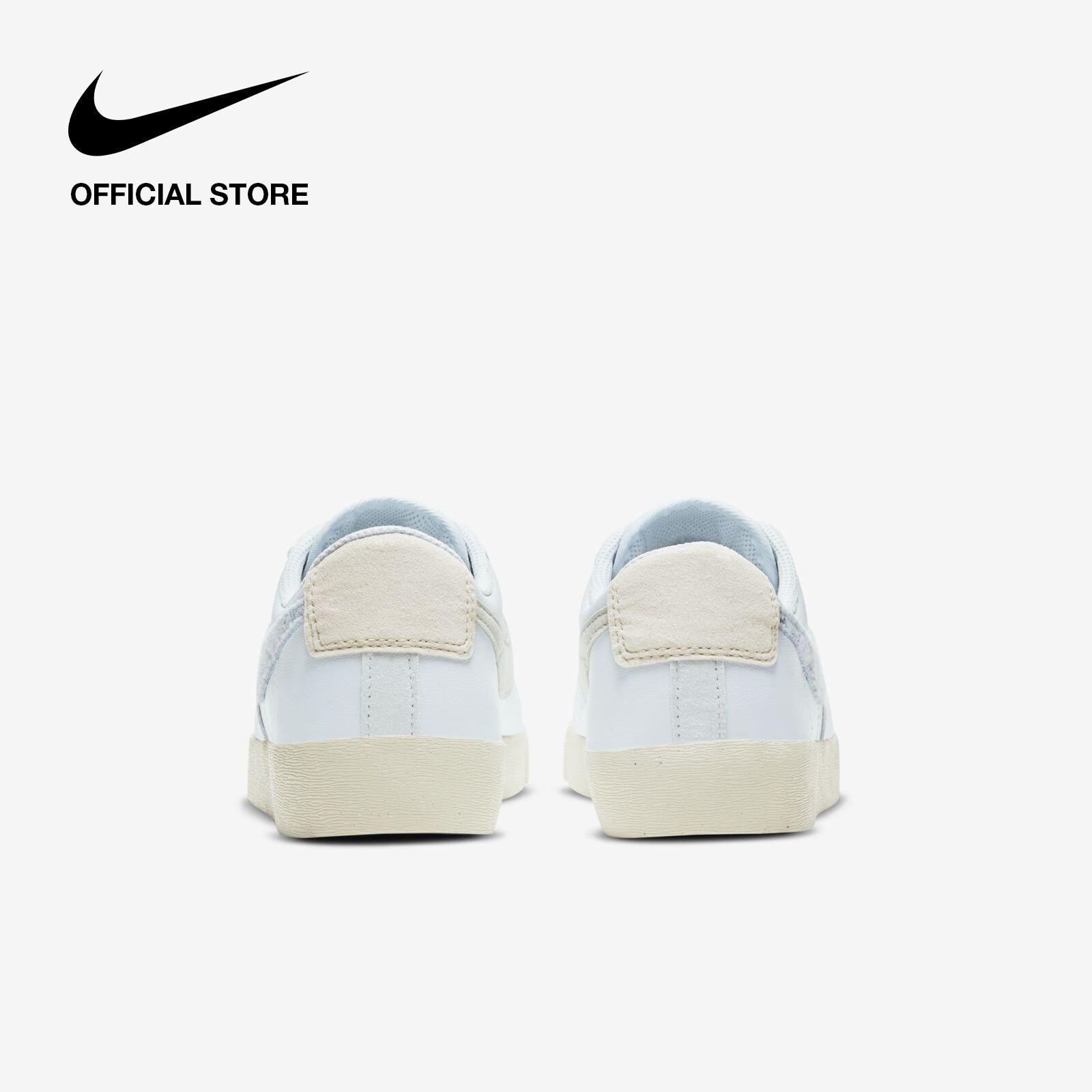 Nike Women's Blazer Low SE Shoes - Light Armory Blue ไนกี้ รองเท้าผู้หญิง เบลซเซอร์ โลว เอสอี - สีฟ้า