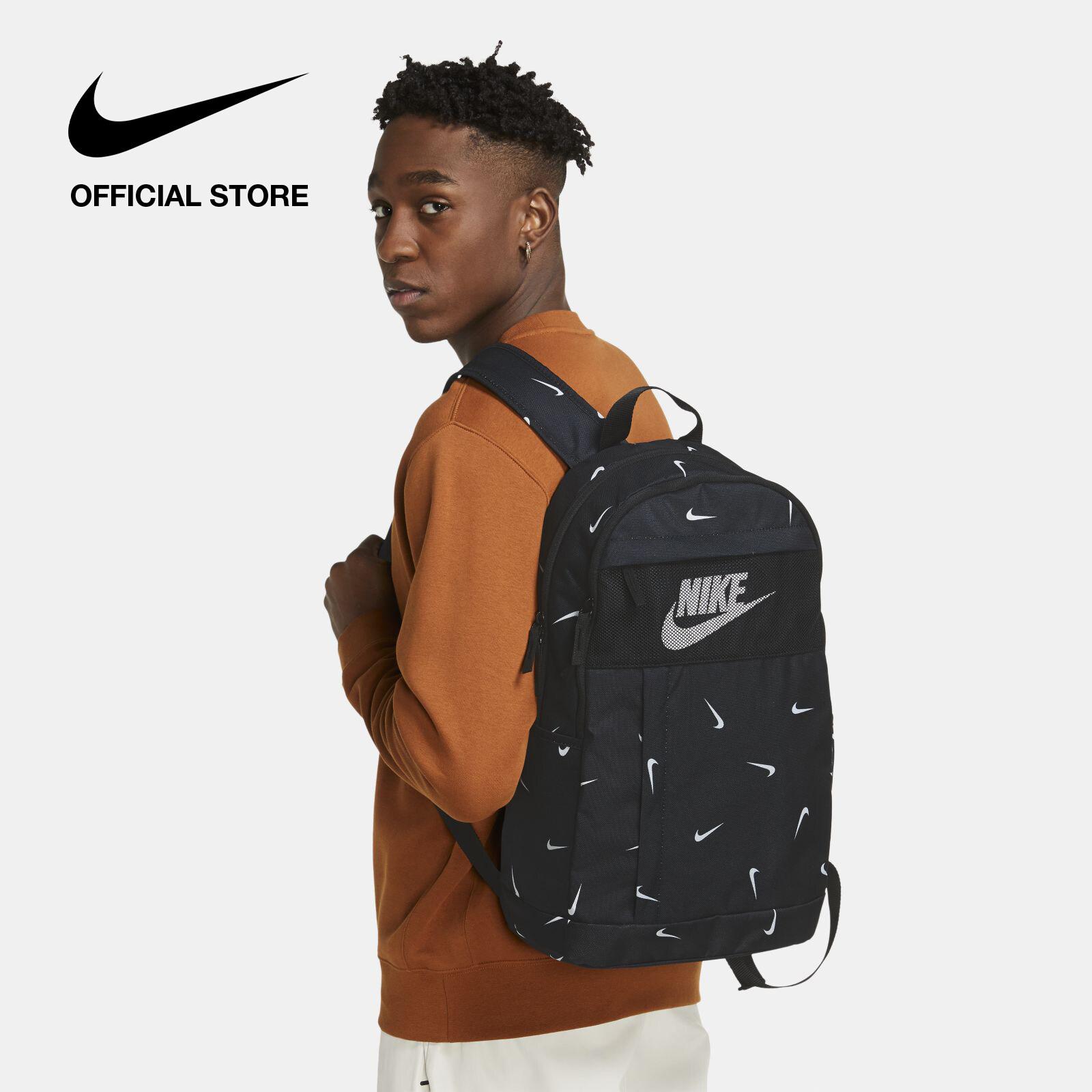 รีวิว Nike Unisex Elemental Backpack - Black ไนกี้ เป้สะพายหลังยูนิเซ็กส์ เอลิเมนทัล - สีดำ