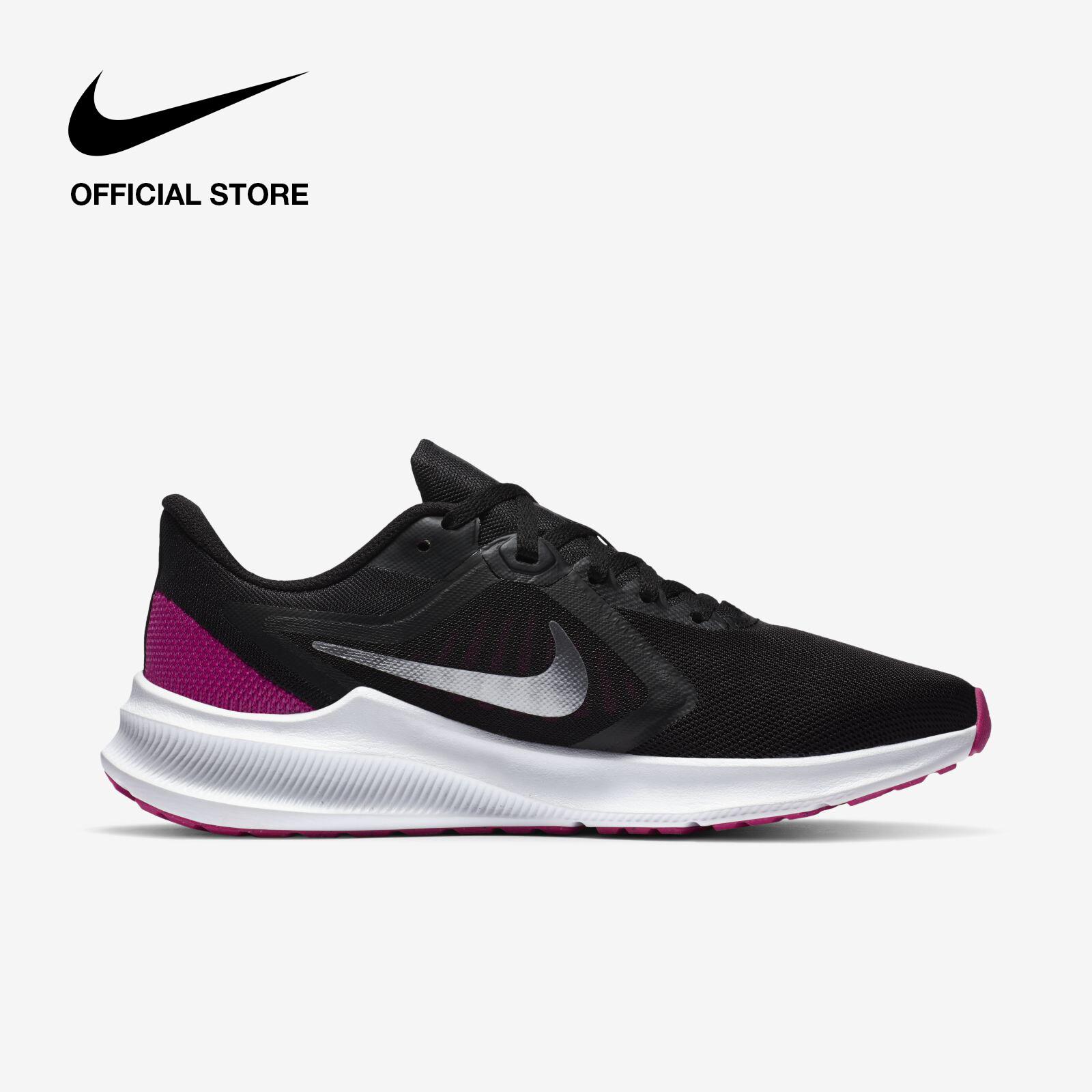 รีวิว Nike Women's Downshifter 10 Running Shoes - Black