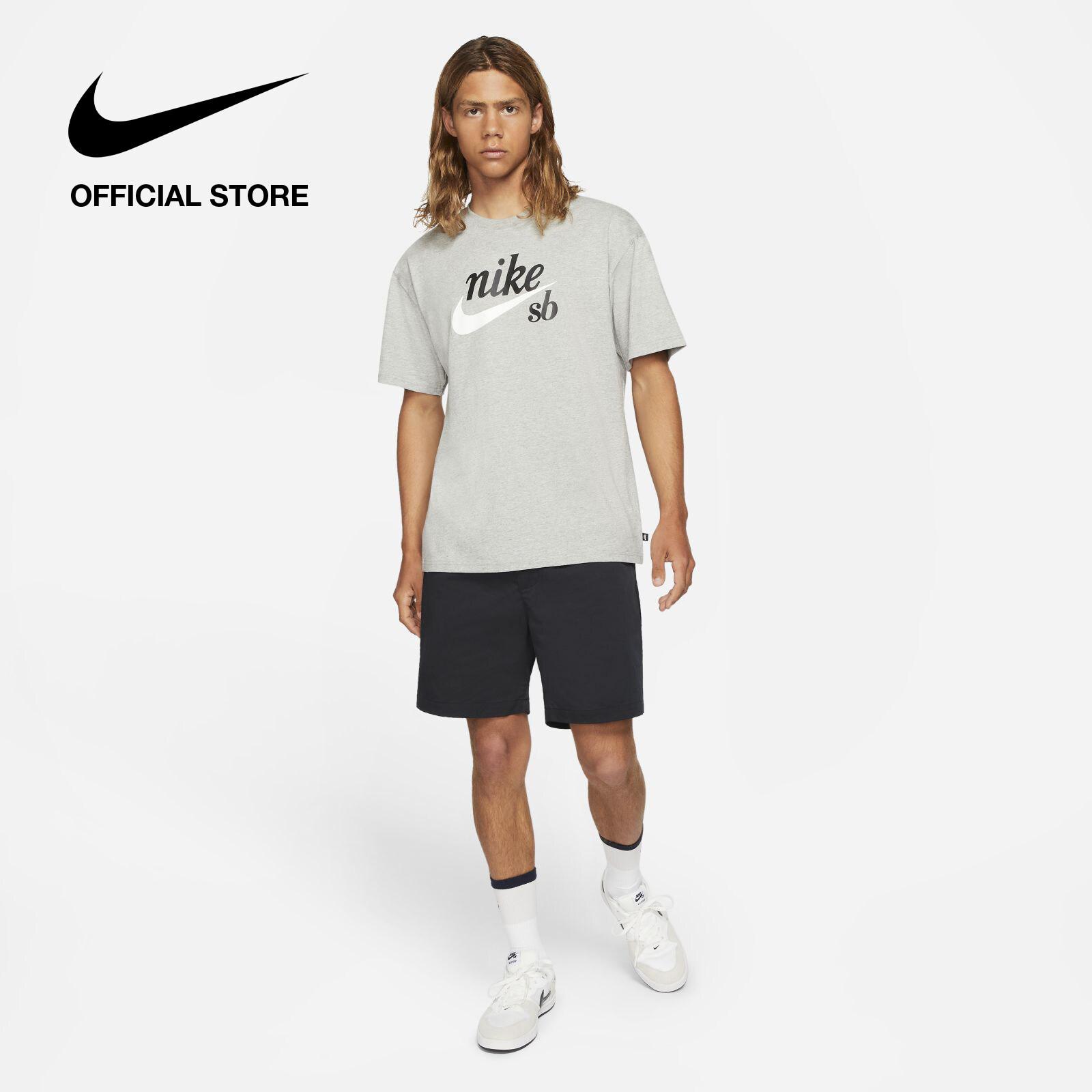 รีวิว Nike Men's SB Pull-On Skate Chino Shorts - Black ไนกี้ กางเกงชิโนสเก็ตบอร์ดขาสั้นผู้ชายแบบดึงสวม เอสบี - สีดำ