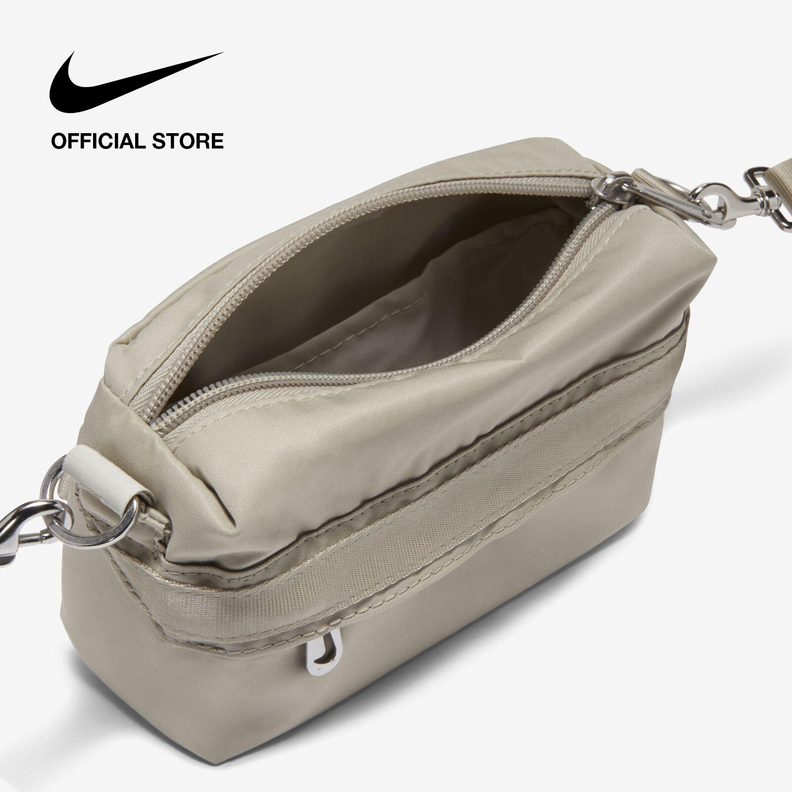 Nike Women's Sportswear Futura Luxe Cross-Body Bag - Stone ไนกี้ กระเป๋าพาดลำตัวผู้หญิง ฟูทูร่า ลุกซ์ - สีหิน