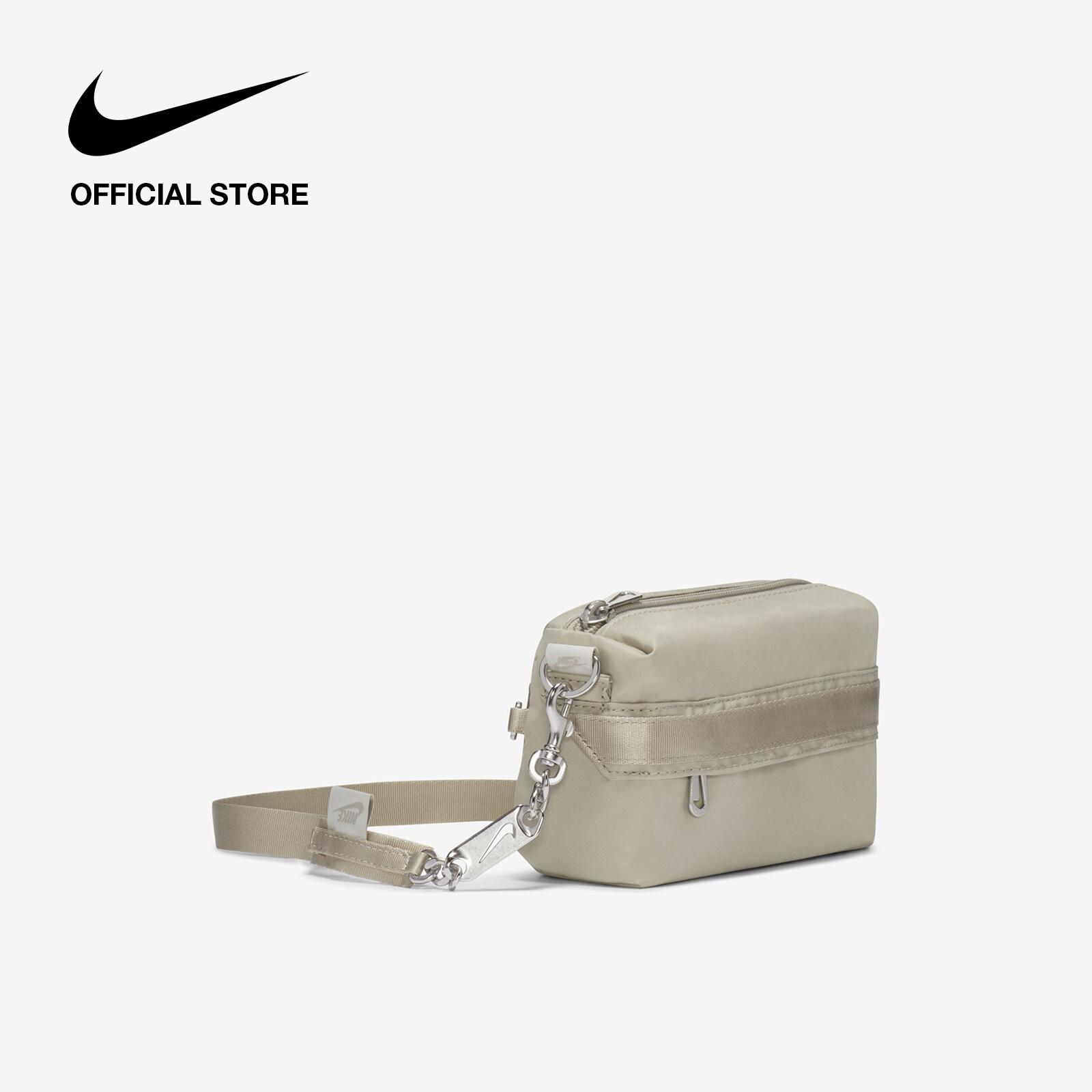 รีวิว Nike Women's Sportswear Futura Luxe Cross-Body Bag - Stone ไนกี้ กระเป๋าพาดลำตัวผู้หญิง ฟูทูร่า ลุกซ์ - สีหิน