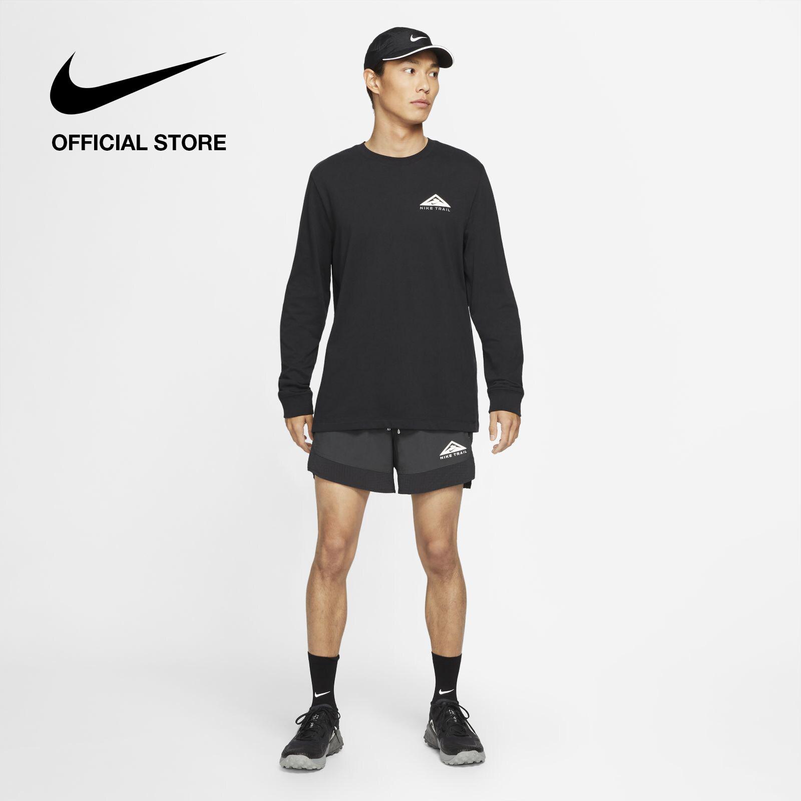 รีวิว Nike Men's Dri-FIT Flex Stride Trail Short - Black ไนกี้ กางเกงขาสั้นเทรลผู้ชาย ดรายฟิต เฟล็กซ์ สตรายด์ - สีดำ