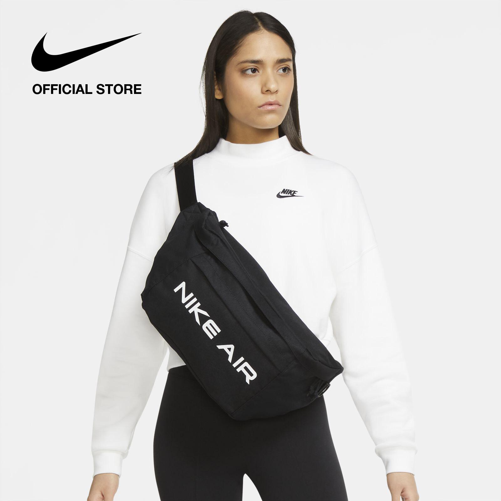 รีวิว Nike Unisex Air Tech Hip Pack - Black ไนกี้ กระเป๋าคาดเอวยูนิเซ็กส์ แอร์ เทค - สีดำ