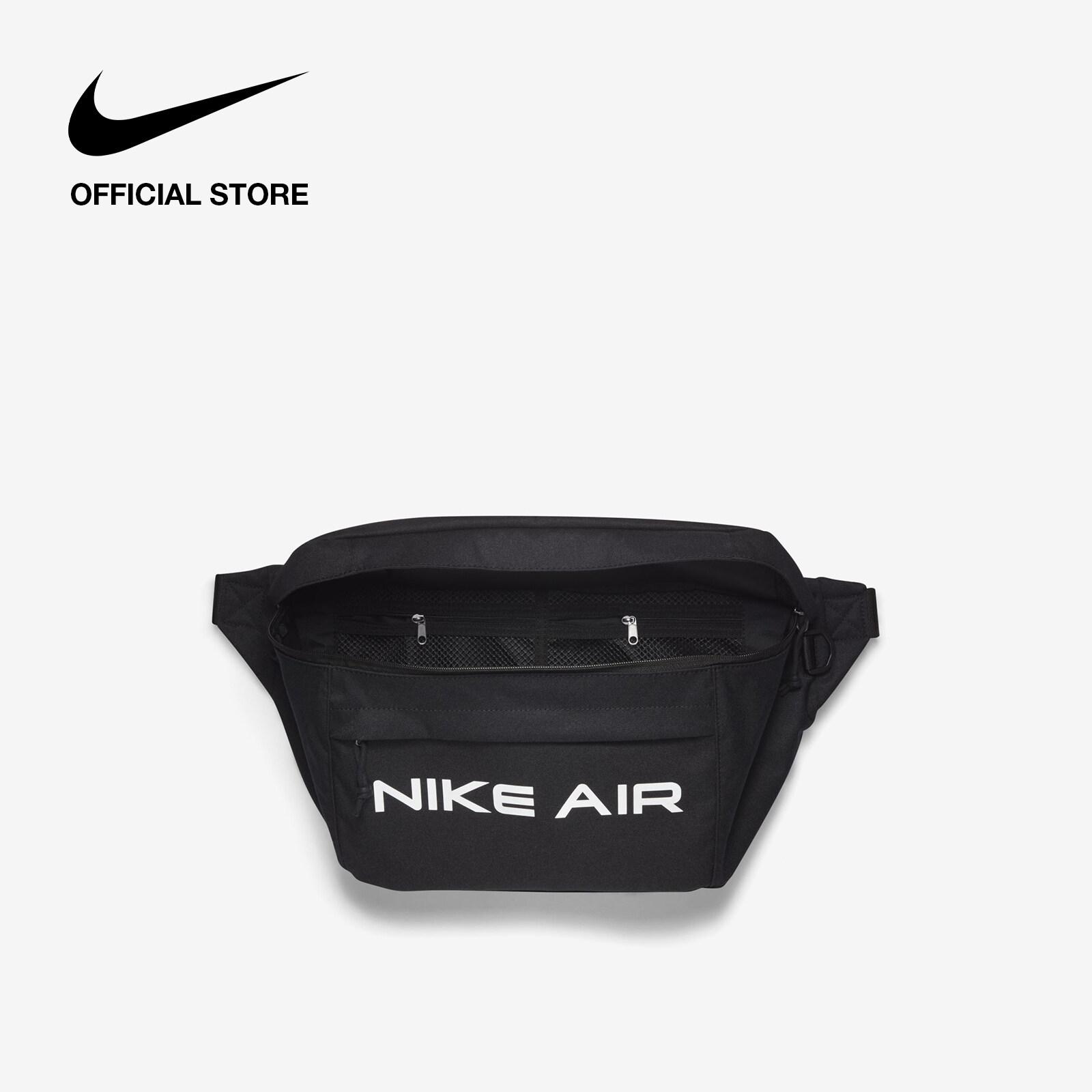 Nike Unisex Air Tech Hip Pack - Black ไนกี้ กระเป๋าคาดเอวยูนิเซ็กส์ แอร์ เทค - สีดำ