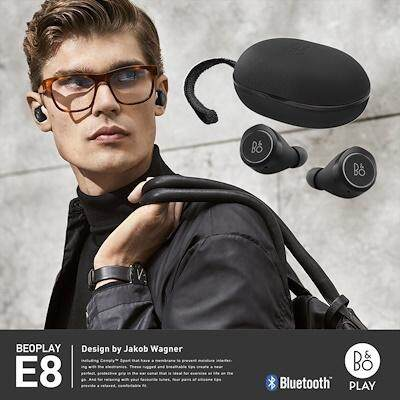 B&O Truly Wireless Earphones รุ่น BeoPlay E8 - Black