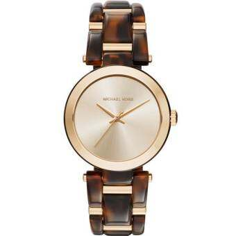 Michael Kors Watches Delray Acetate 3 Hand Watch MK4314