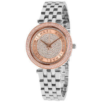 Michael Kors Women's Mini Darci Silver-Tone Watch MK3446