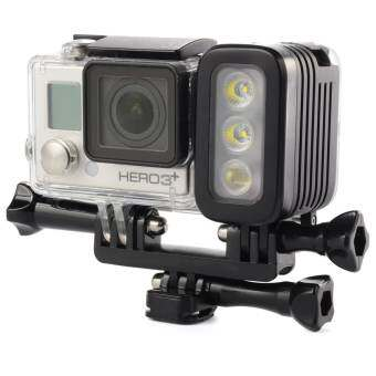 Waterproof Spot LED Flash Light For Gopro Hero 4 Session 3+ Camera xiaomi