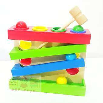 Todds & Kids Toys ของเล่นเสริมพัฒนาการ ค้อนทุบลูกบอลฝึกการเคลื่อนไหว การหยิบจับ-