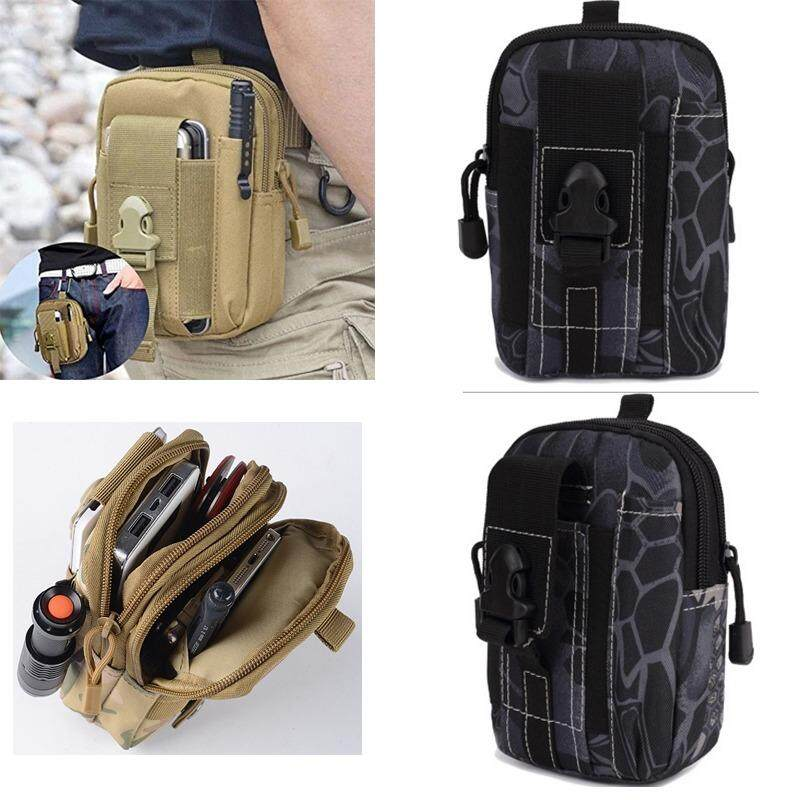 CICI Men's Outdoor Camping Bag Hiking Pouch Military Army Waist Pack with Belt Loop