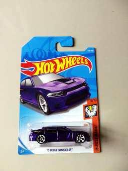 รถ Hot Wheels รุ่น 15 DODGE CHARGER SRT ของเล่นเด็ก รถโมเดลสะสม-