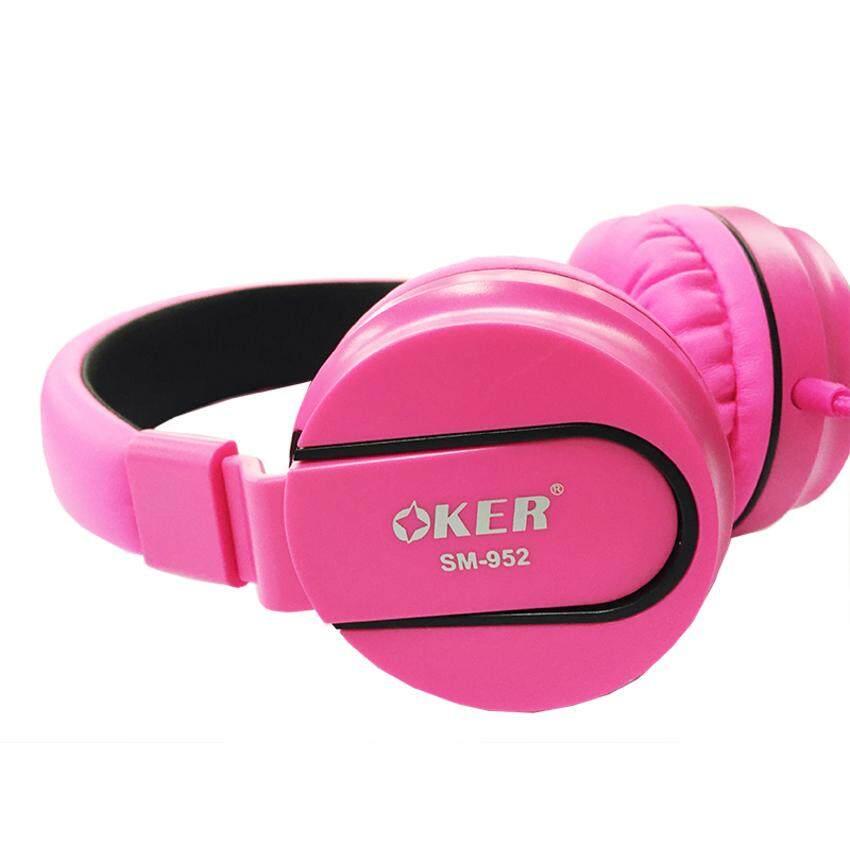 ที่ไหนขาย  OKER Small Talk HEADPHONES รุ่น SM-952  หูฟังครอบหู หูฟังสมอท็อค ใช้กับมือถือได้ทุกรุ่น รุ่นใหม่ 2019