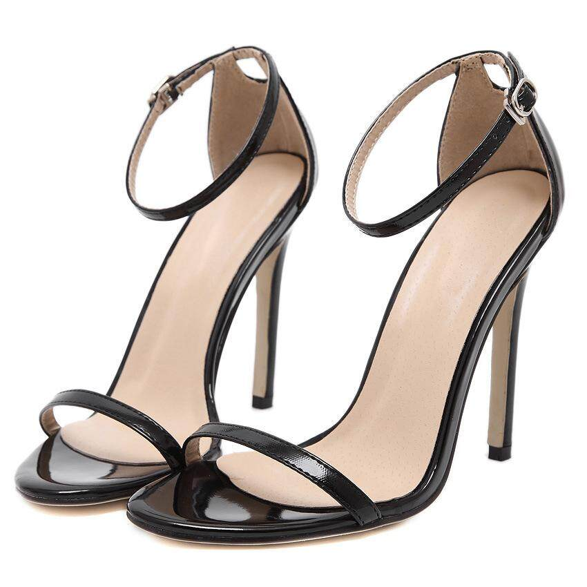 Women Fashion High Heel Sandals Lady Stiletto Heels Wedding Shoes