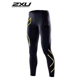 2XU Men Compression Tights Black/Gold
