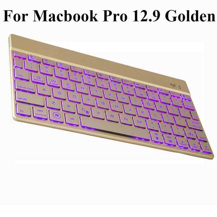 New F3S Wireless Bluetooth 3.0 Keyboard w/ Backlight, Support iOS Android Windows Detachable keyboard Fashionable thin design