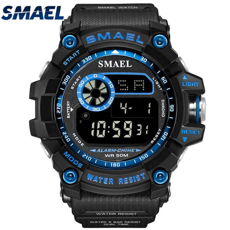 SMAEL Top Brand Luxury Men's Watches Sport Casual LED Digital Watch Men Fashion Outdoor Military Electronic Watch Men Clock