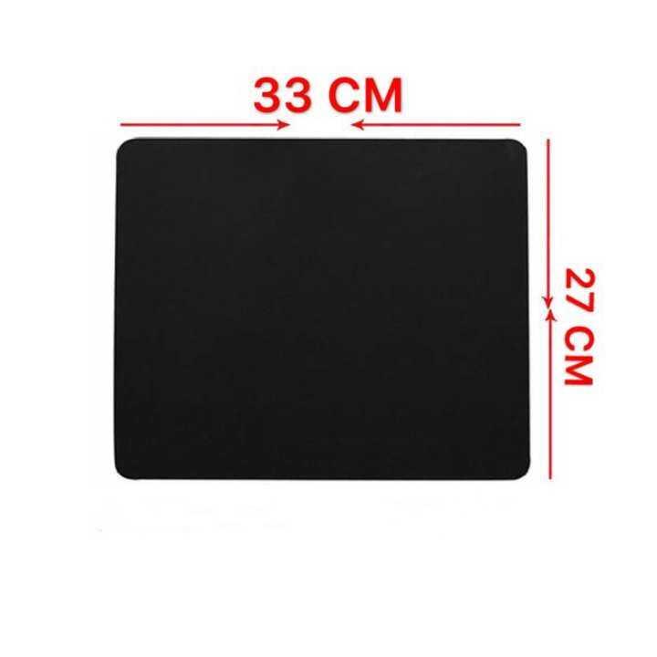 ราคา Surface แผ่นรองเมาส์ Mouse PAD (แบบผ้า) Surface-1030 (BLACK) 33X27CM
