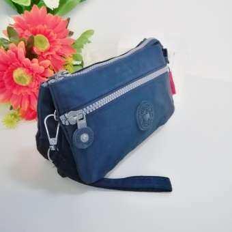 Korea กระเป๋าถือ ใส่มือถือใส่เงิน ช่องซิปหลักภายในมี 3 ชั้น ผ้ากันน้ำ ขนาด18X10.5X2.5cm รุ่น MB022-4-