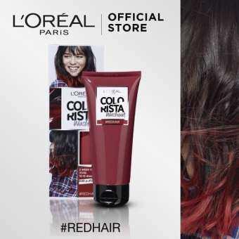 แนะนำ ลอรีอัล ปารีส คัลเลอร์ริสต้า วอชเอาท์ สี RED HAIR L'OREAL PARIS COLORISTA WASHOUT RED HAIR (Colorista, ครีมเปลี่ยนสีผมชั่วคราว, ทำสีผม, ไฮไลท์)