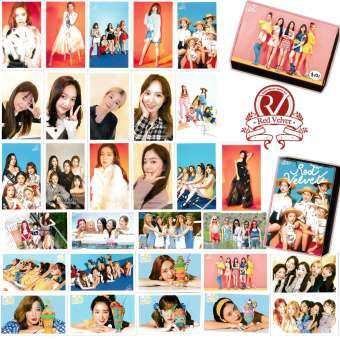 Lomo Card Set Red Velvet 2018 Set 30 PCS โลโม่ การ์ด  Box Set-