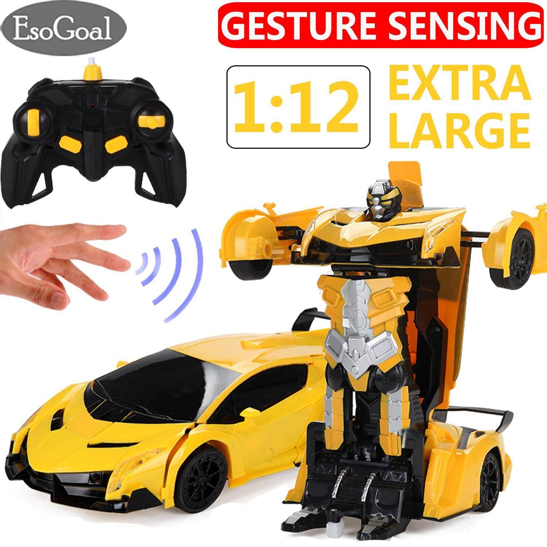 Esogoal Rc Vehicles Transformer Toys Electric Rc Drift Car Remote