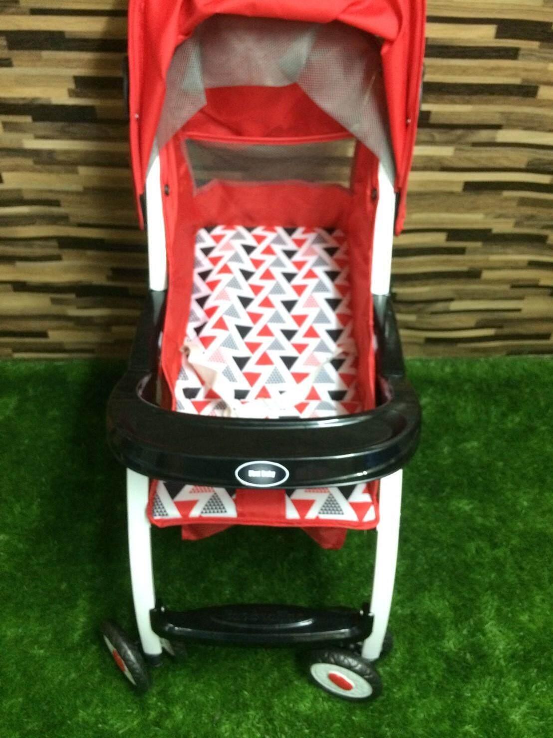 มาใหม่ Oemgenuine รถเข็นเด็กแบบนอน รถเข็นเด็กปรับนอน นั่งได้ ของแท้ ราคาถูก