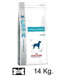 Royal Canin Hypoallergenic dog อาหารสุนัข ที่มีปัญหาเรื่องแพ้อาหาร  ขนาด 14kg-