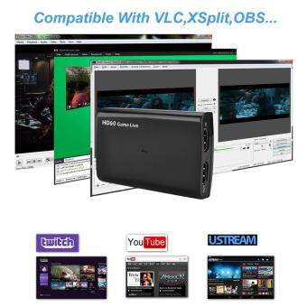 Y&H HDMI to USB3 0 Video Capture Card HD Recording 1080P 60fps Game  Stream,Game Commentate via Mic,Support 4K 30P Input/Output,for PS4,Xbox One  and