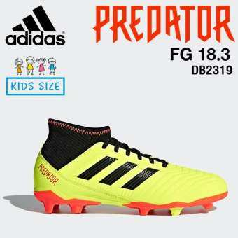 Adidas รองเท้า ฟุตบอลเด็ก อดิดาส Kids Football Shoe PREDATOR PREDATOR 18.3 FIRM GROUND BOOTS DB2319  YELLOW / BLACK / RED (2300)