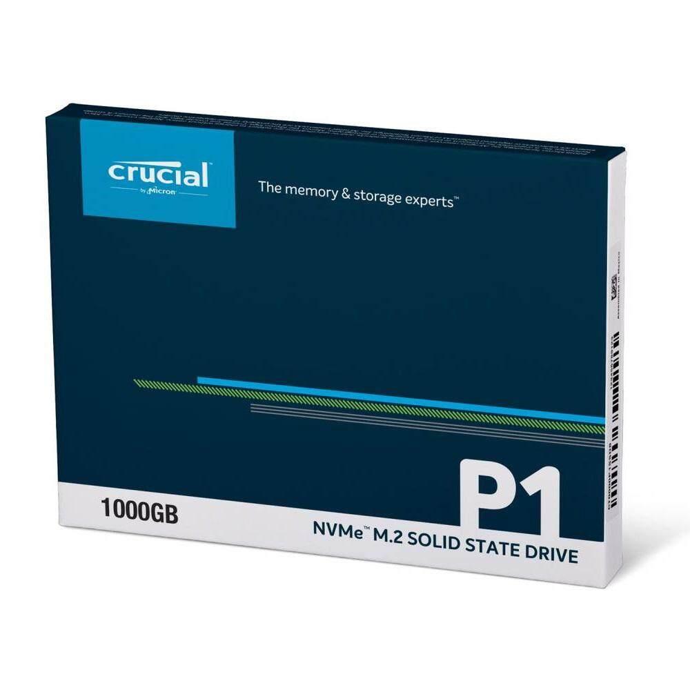 Crucial 1TB P1 NVMe M.2 SSD รีวิว crucial p1 nvme หน่วยความจำ ssd คุ้มราคา - รีวิว Crucial P1 NVMe หน่วยความจำ SSD คุ้มราคา