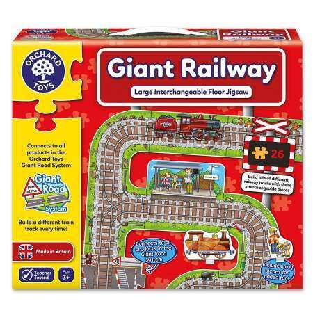 Orchard Toys จิ๊กซอว์เสริมทักษะ Giant Railway Jigsaw