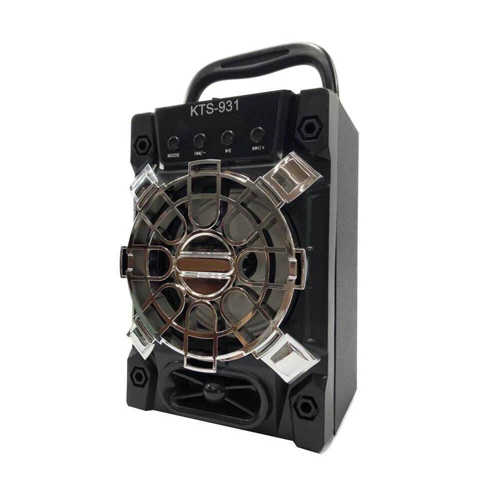 ถูกสุดๆ ลำโพงแบบพกพา J&N Electronic ลำโพงบลูทูธเอนกประสงค์ แบตในตัว เสียบยูเอสบีฟังเพลง/วิทยุ/เสียบเมม แบบพกพา ใช้กลางเเจ้ง ลำโพงคู่พร้อมไฟเทคในตัว KTS-931 (แถมไมโครโฟนและปลั๊กชาร์จ) ถูกกว่านี้ไม่มีอีกแล้ว
