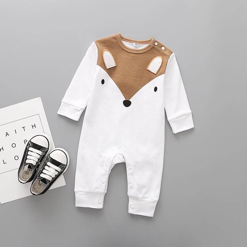 ใหม่!!! เสื้อผ้าเด็กทารก ผ้าฝ้าย100% เสื้อผ้าเด็กอ่อน ชุดบอดี้สูทเด็ก นุ่มพิเศษ น่ารักน่าชัง ชุดจั๊มสูทเด็กทารก กำลังฮิตในยุโรป รุ่น Fairy Animal 80cm-95cm (ขนาด 0 - 18 เดือน)