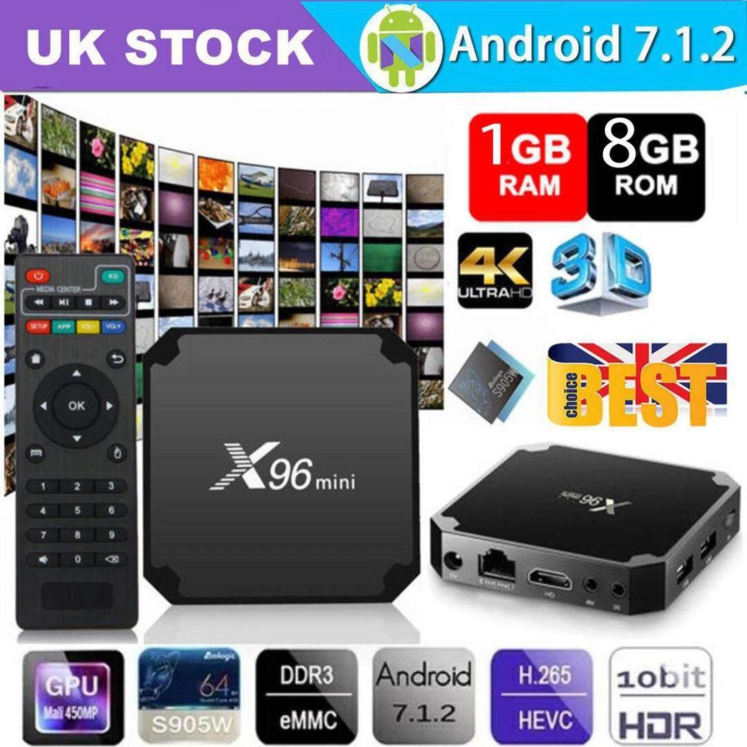 สอนใช้งาน  พังงา กล่องแอนดรอยด์ทีวี Android 7.1.2 BOX สมาร์ททีวี แอนดรอยด์ทีวี ดิจิตอลแอนดรอยด์ทีวี แอนดรอยด์บ็อกซ์ Android TV Box Smart TV Box รุ่น X96 mini S905W 4K Ram 1 GB   Rom 8 GB