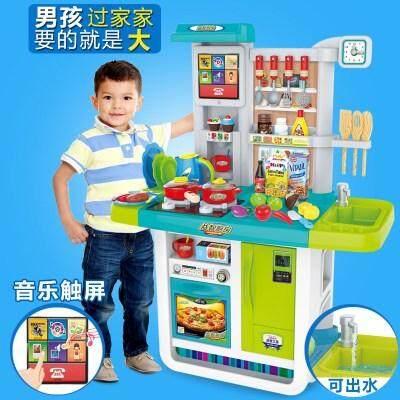Image 3 for smartbabyandkidของเล่นชุดครัวน้ำไหลได้  มีไฟ มีเสียงพร้อมจอTouch Screen