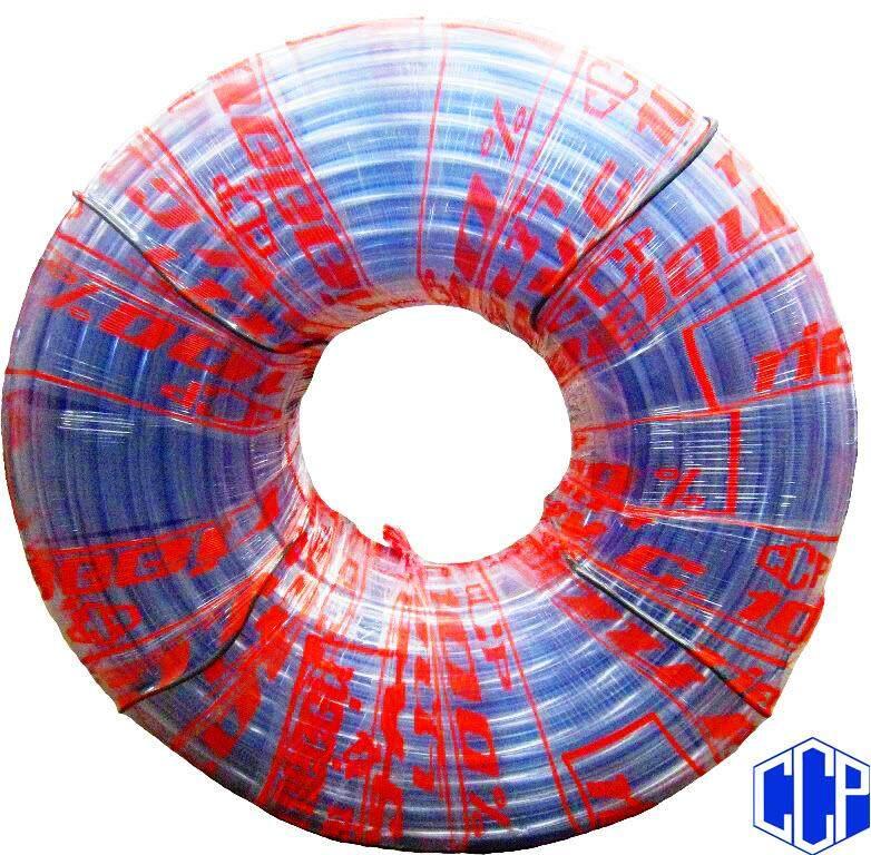 """สายยางใส 5/8""""x100 เมตร ความหนา-บาง (เหมาะสวมก๊อกน้ำขนาด 4 หุน 1/2"""