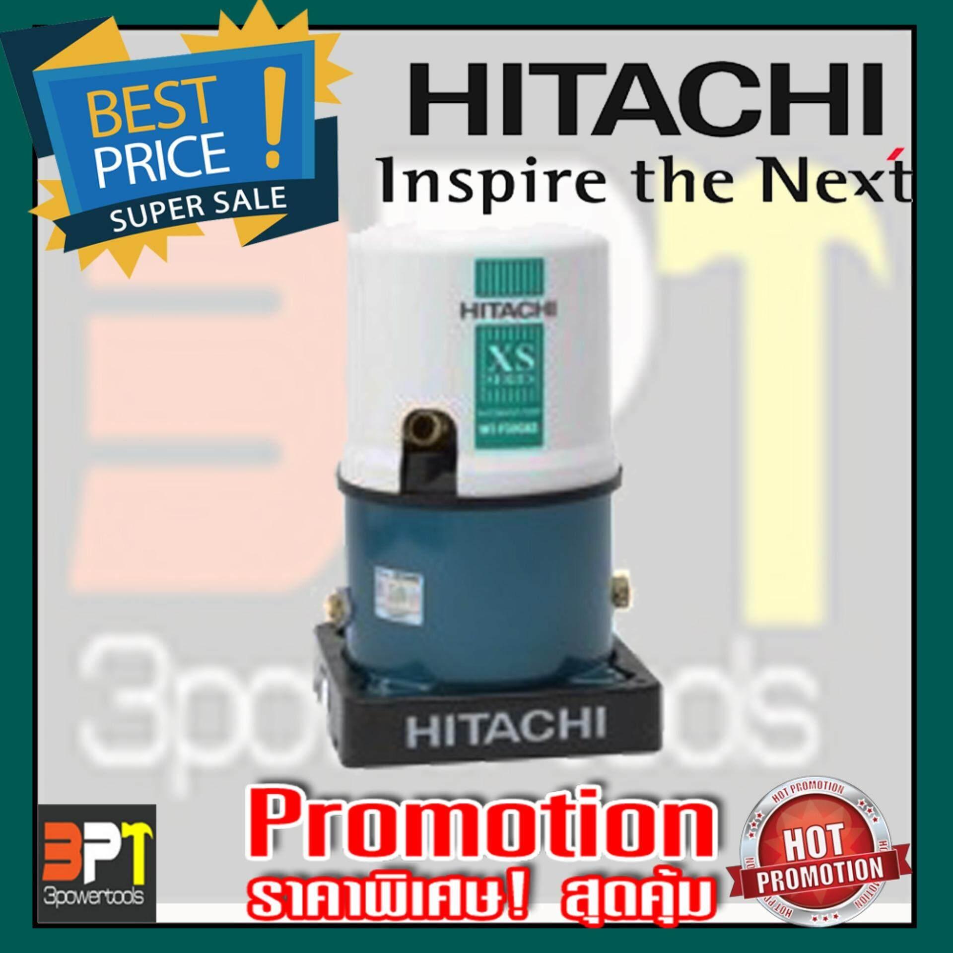 ปั๊มน้ำอัตโนมัติ HITACHI WT-P250XX 250W (สีขาว-ฟ้า)รุ่นใหม่ล่าสุด*ส่งฟรี* รับประกัน 10ปี