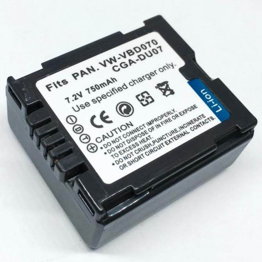 แบตเตอรี่กล้อง Panasonic CGR-DU07 Camera Battery for PANASONIC VDR-D230 VDR-D210 Camcorder