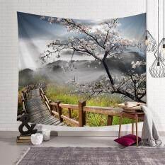 200*150 cm Rừng Thảm Treo Tường Thảm Khăn Đi Biển Chăn Kèm Túi Bohemian-quốc tế