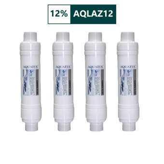 AQUATEK USA ไส้กรองน้ำดื่ม 4 ขั้นตอน สำหรับเครื่องกรองน้ำดื่ม AQUATEK USA รุ่น AM100-