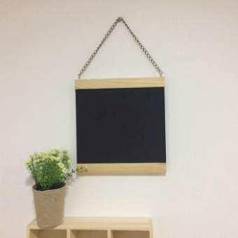 กระดานดำแบบแขวนขนาด 23x24 cm-