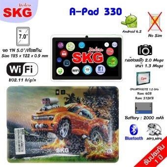 SKG แท็ปเล็ต 7นิ้ว Fiwi รุ่น A-Ped 330 ลายการ์ตูน G