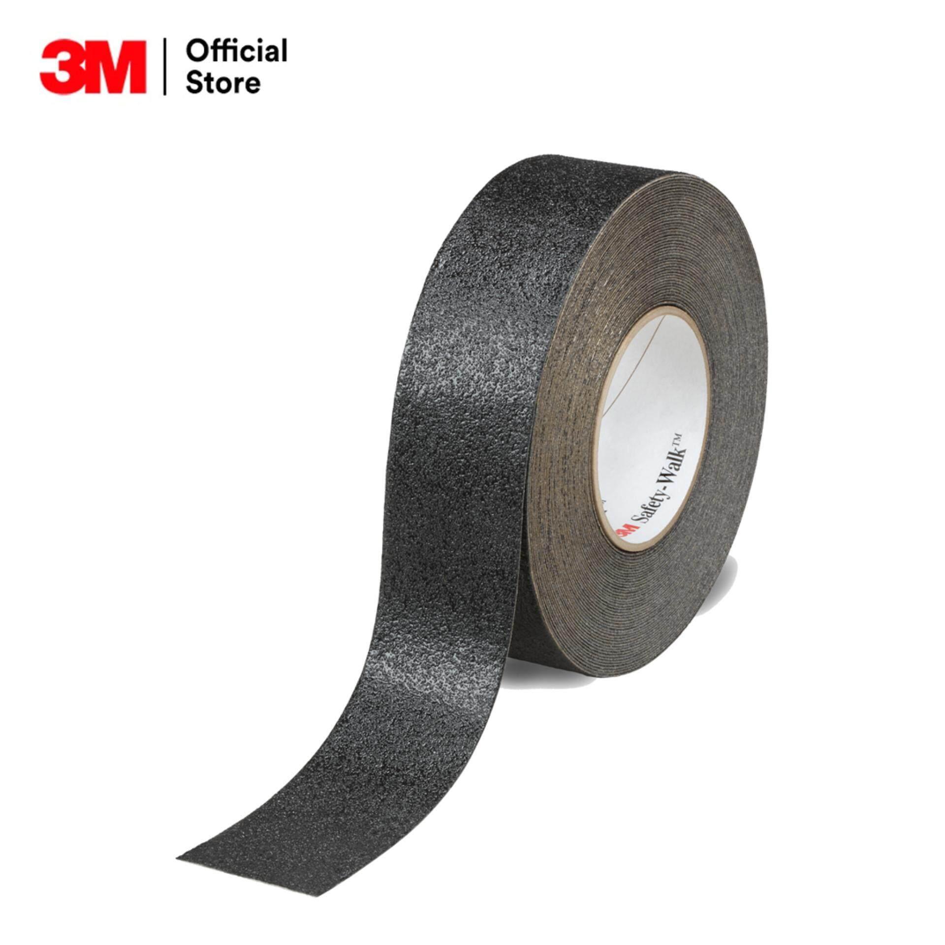 "S/W # 610 SAFETY-WALK WIDTH 3/4"" (BLACK) เทปกันลื่น รุ่น 610 ความหยาบมาก สีดำ ขนาด 3/4"