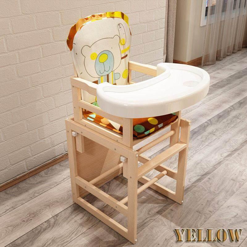 รีวิว Baby High Chair เก้าอี้ทานข้าวทรงสูง ปรับระดับได้ 4in1 -สีเหลือง
