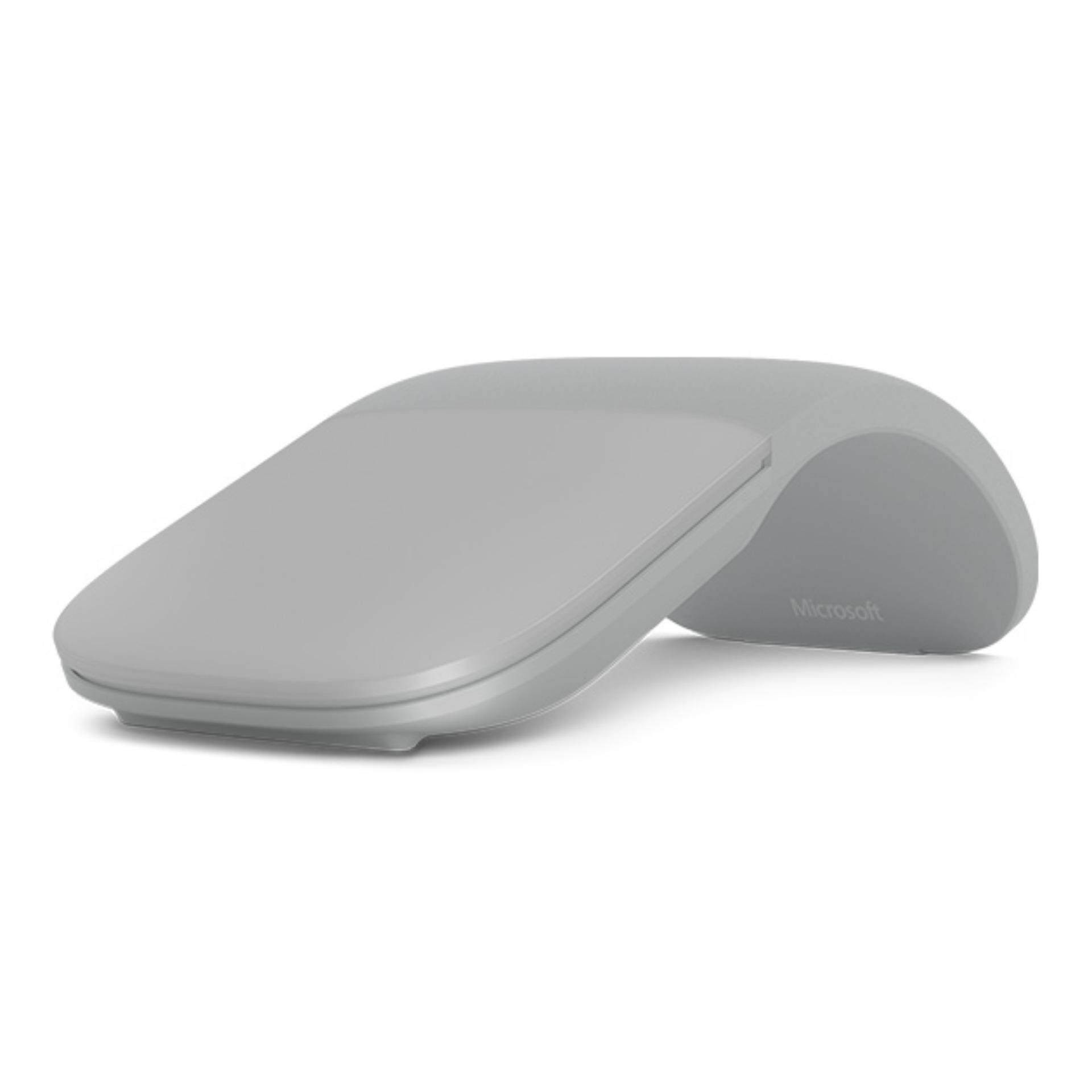 [เมาส์บลูทูธ] Microsoft Surface Arc Mouse Bluetooth (Light Grey) SrfcAcc