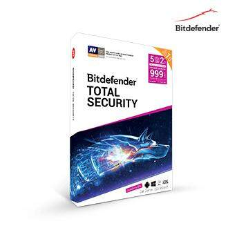 Bitdefender Total Security 2019 (2Years 5Devices)